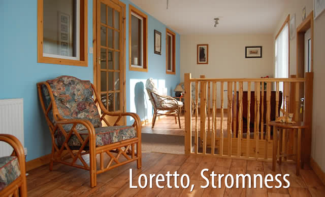 Stromness self catering at Loretto.
